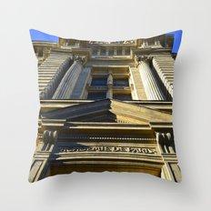 Academie De Paris Throw Pillow