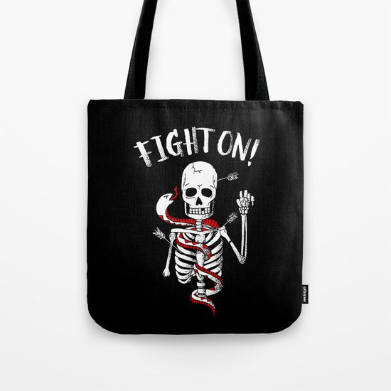 FIGHT ON! Tote Bag