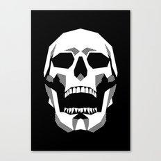 Grim Geometry Canvas Print