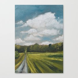 England 51/100 Canvas Print