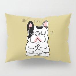 Namaste French Bulldog Pillow Sham