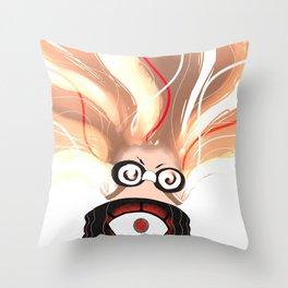 Electro Movement Throw Pillow