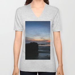 Sunset Handry's Beach Unisex V-Neck