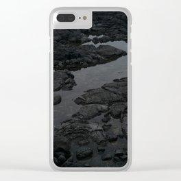 Jeju Island Clear iPhone Case