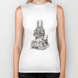 Tribute to Gaudi Biker Tank