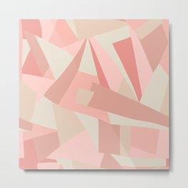 Abstract Geometric Art Print No. 2 Metal Print