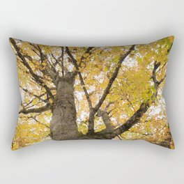 A Tree with Fall Leaves Rectangular Pillow