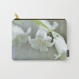 White bluebell...happily different Carry-All Pouch
