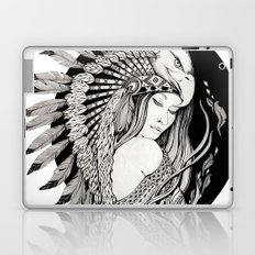A dream of feathers Laptop & iPad Skin