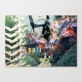 Dive Into Lucid Waters Canvas Print