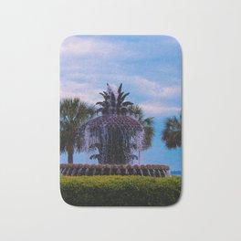 Pineapple Fountain Bath Mat