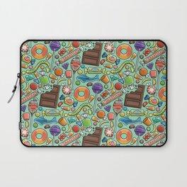 Candy Pattern Laptop Sleeve