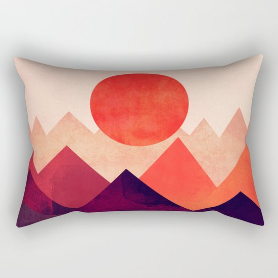 Touched By The Sun Rectangular Pillow