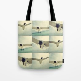 bird 1/3 by akashidan Tote Bag