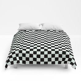 B&W CHECKER Comforters