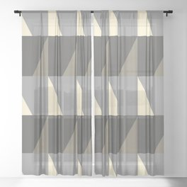 Cosy Concrete Sheer Curtain