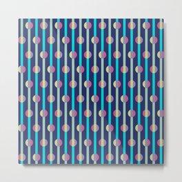 Mod Stripe Metal Print