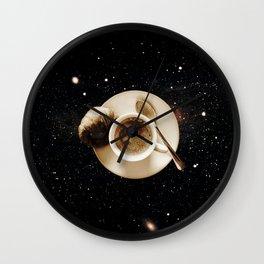 Galaxy coffee Wall Clock