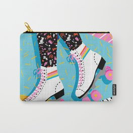 Steeze - 80's memphis rollerskating rad neon trendy art gifts throwback retro vibes Carry-All Pouch