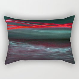 Lights in the Night Rectangular Pillow