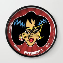 Peppermint-T... The Information Specialist for C2 & Posse Wall Clock