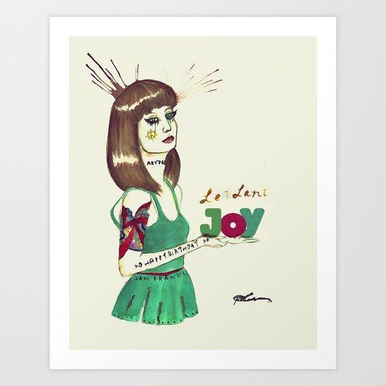 Leilani Joy Art Print