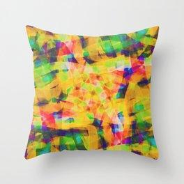 Abstract XXXIV Throw Pillow