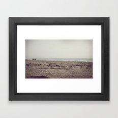 Beach Days Framed Art Print