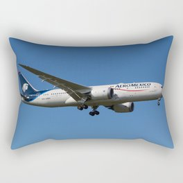 Aero Mexico Boeing 787 Rectangular Pillow