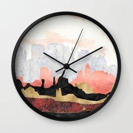Distant Desert Wall Clock