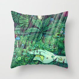 Death and Consequence Throw Pillow