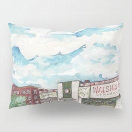 Walsh's Garage Lynn Massachusetts Art Deco Building Pillow Sham
