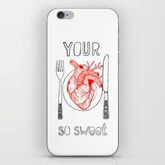 Heart Sweet iPhone & iPod Skin