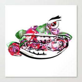 ROSY MENACE Canvas Print