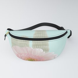 Cactus Flowers Bouquet Fanny Pack