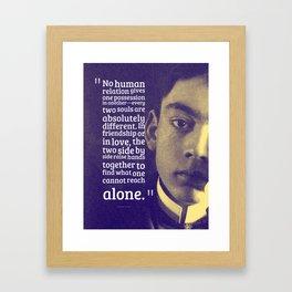 Most Inspiring Kahlil Gibran Quotes - 15 Framed Art Print
