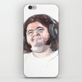 Jorge Garcia (Hurley) iPhone Skin