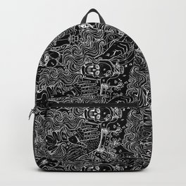 Alchemy 28a Black and White Backpack