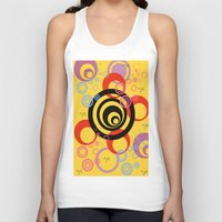 illusion Tank Tops featuring Illusion by Ketjokha