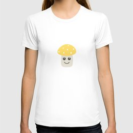 Cute yellow toadstool T-shirt
