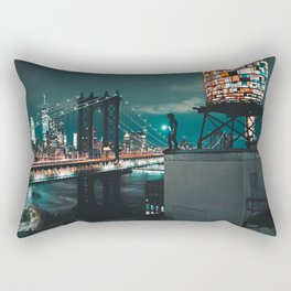 The Water Tower New York City (Color) Rectangular Pillow