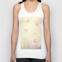 unicorns Tank Tops featuring Unicorns by Bloody Diamonds Shop