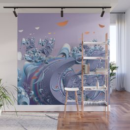A breeze of spring Wall Mural