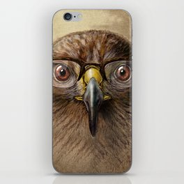 Hipster Eagle iPhone Skin