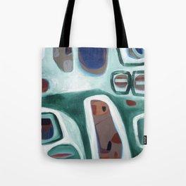 Rock Face Tote Bag