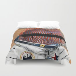 Spaceman No:2 Duvet Cover