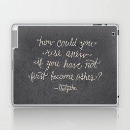 Nietzsche on Rising Anew Laptop & iPad Skin