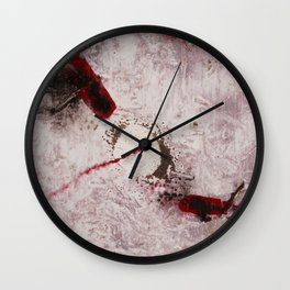 Clown With No Nose Wall Clock