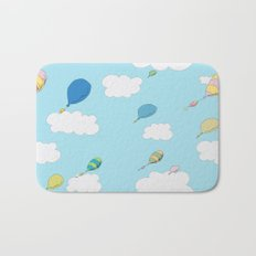 oh the places you'll go pattern...  Bath Mat