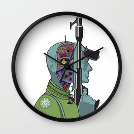 Clans of the Alphane Moon Wall Clock